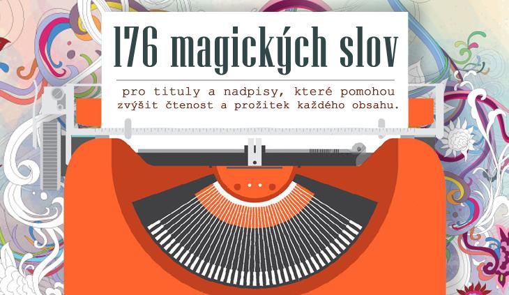 176 magických slov a frází pro titulky a nadpisy
