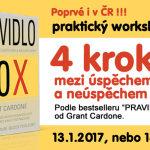 Praktický workshop PRAVIDLO 10X poprvé v Praze